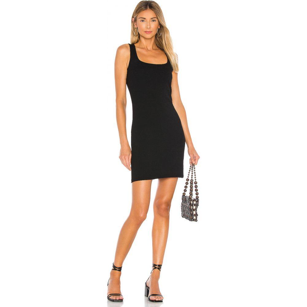 ボビ Bobi レディース ボディコンドレス ミニ丈 ワンピース・ドレス【Modal Spandex Rib Bodycon Mini Dress】Black