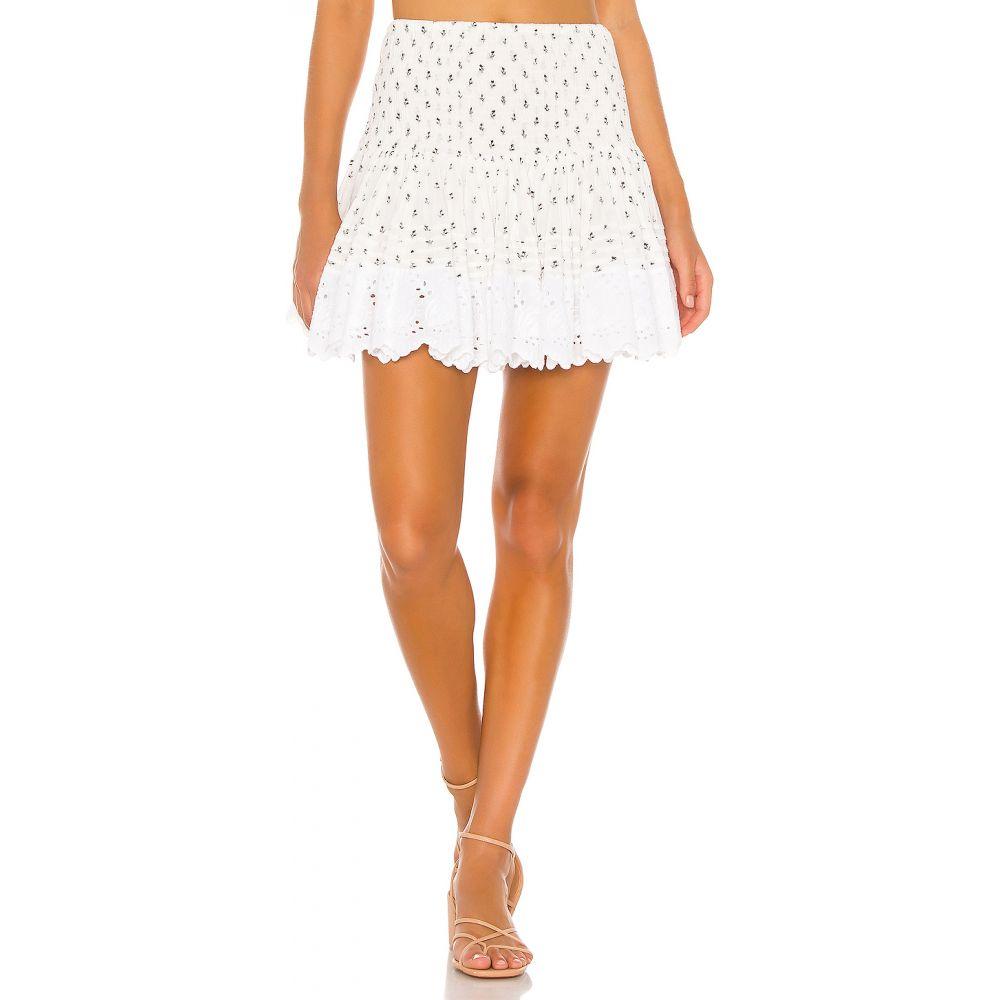 プレイスナショナル Place Nationale レディース ミニスカート スカート【La Libere Mini Skirt】Black Blossom Print