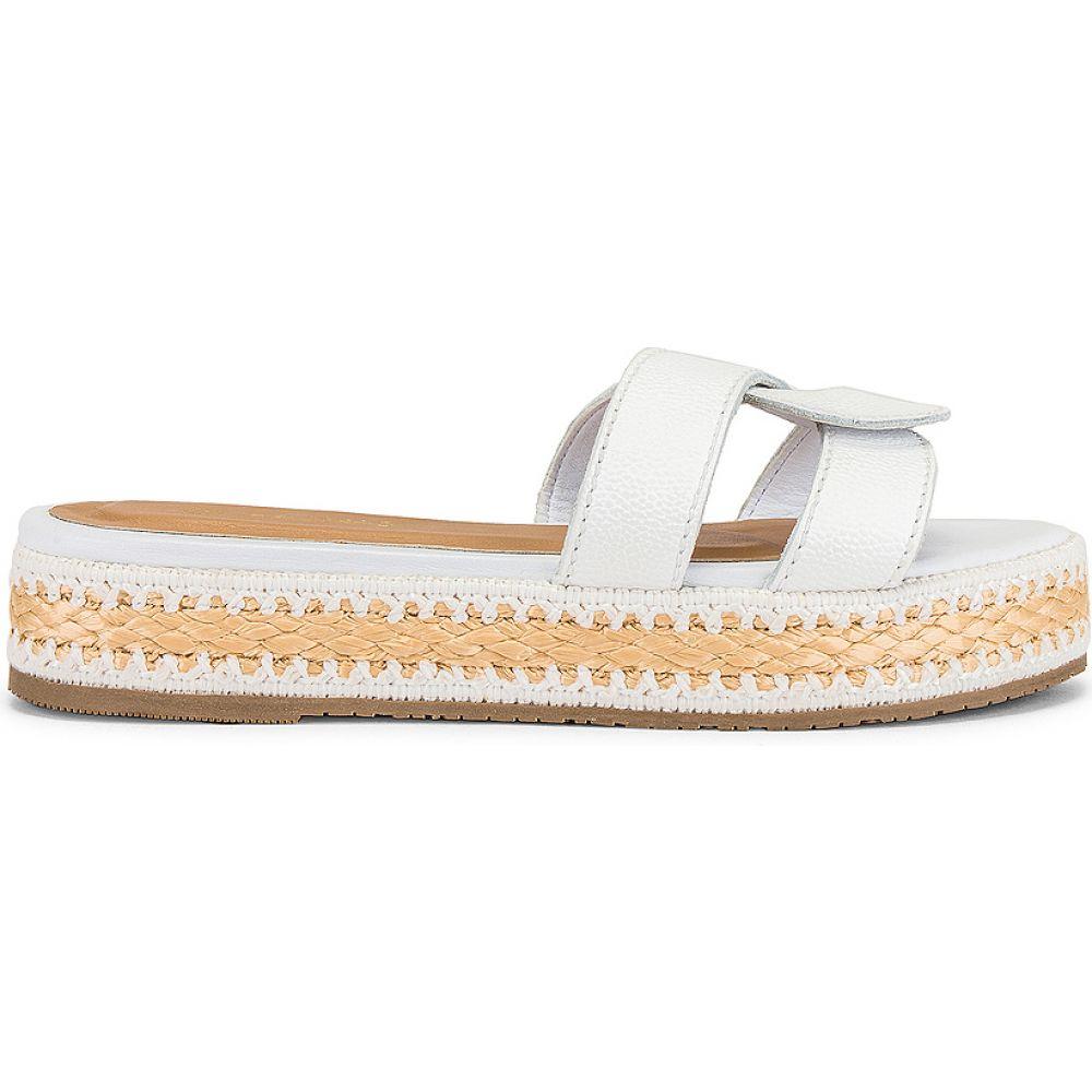 カーナス Kaanas レディース サンダル・ミュール シューズ・靴【Oia Infinity Flatform】White