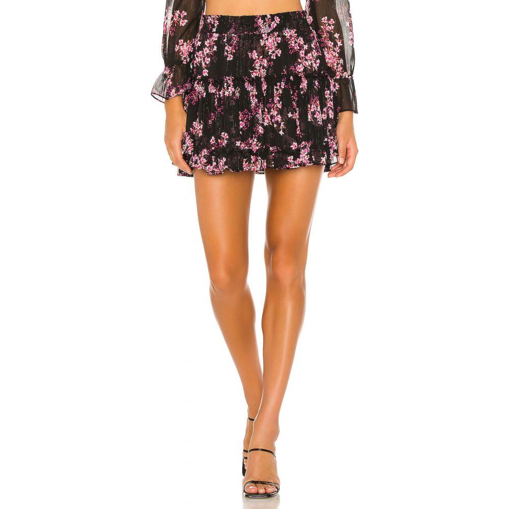 Floral スカート Skirt】Berry レディース MISA ミサロサンゼルス Los Angeles 【Marion Met