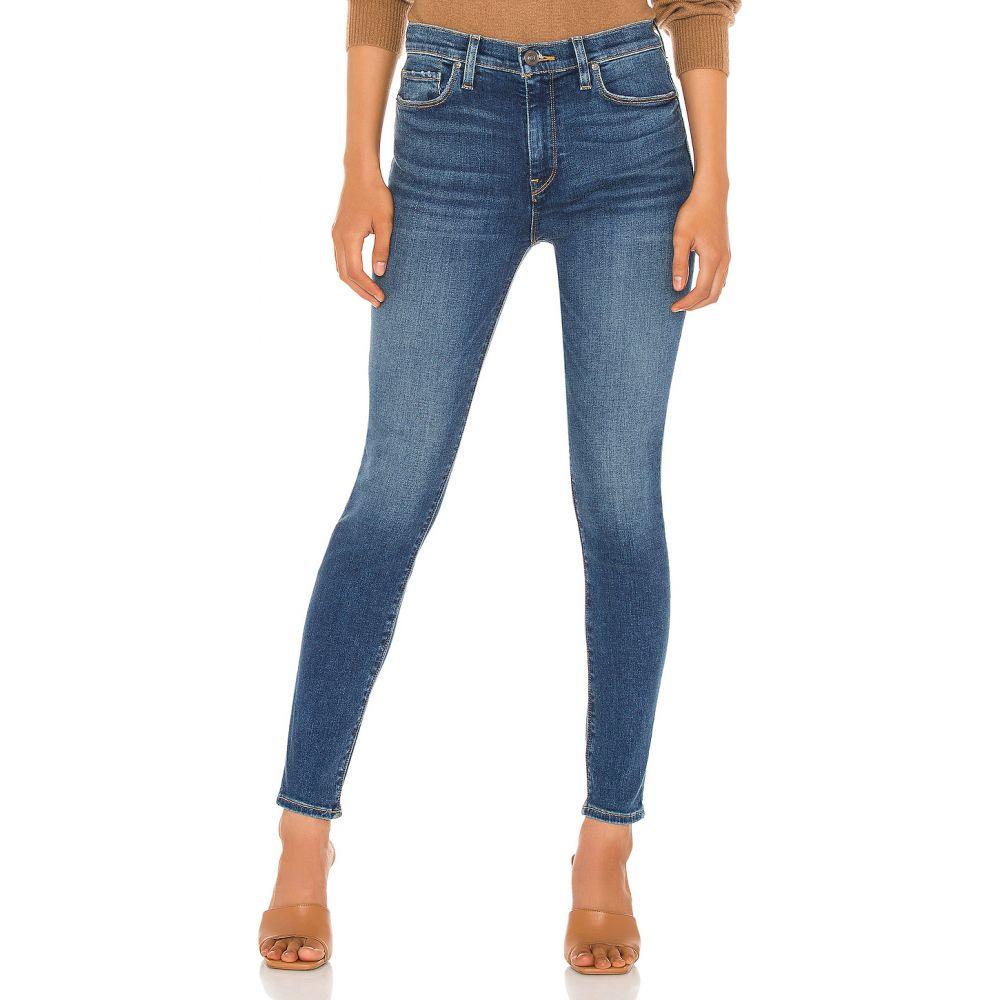 ハドソンジーンズ ボトムス・パンツ【Barbara Waist Jeans Super Hudson High Ankle】Temptations レディース Skinny クロップド