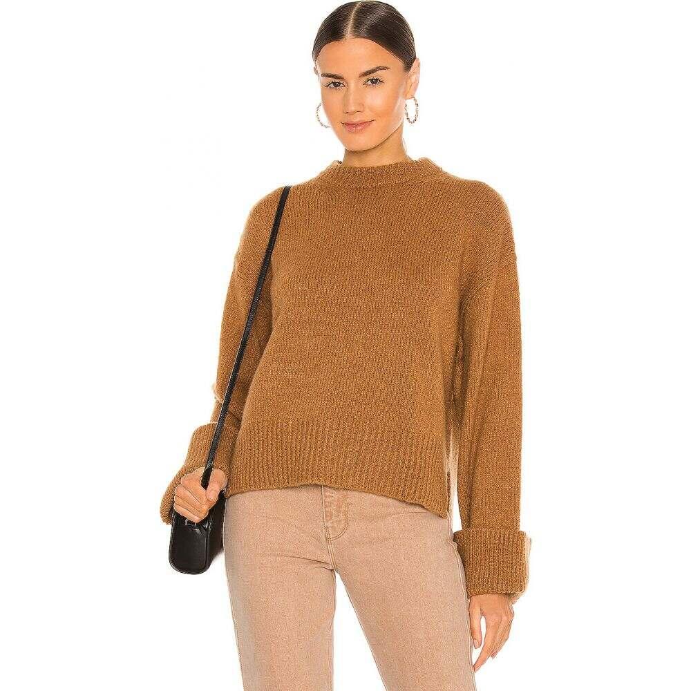 フレーム レディース トップス ニット セーター Camel leon FRAME sweater サイズ交換無料 今だけスーパーセール限定 frame アイテム勢ぞろい