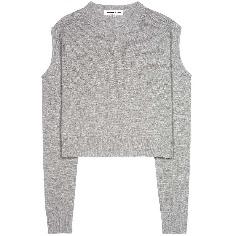 アレキサンダー マックイーン McQ Alexander McQueen レディース トップス ニット・セーター【RIk10 wool and cashmere cut-out sweater】
