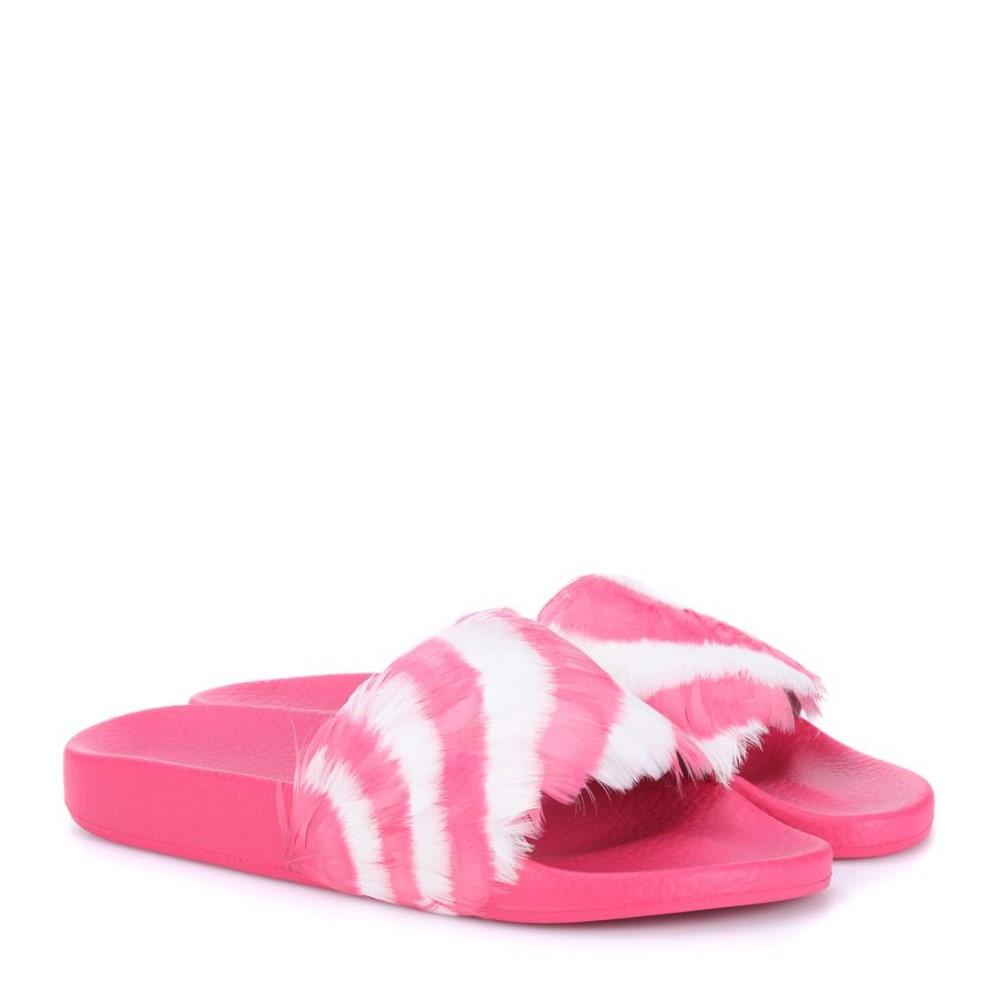 ヴァレンティノ レディース シューズ・靴 サンダル・ミュール【Feather slides】PINK