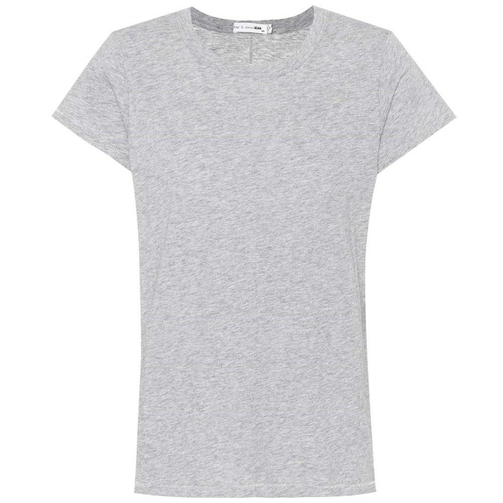 ラグ&ボーン レディース トップス Tシャツ【Tee cotton T-shirt】Heather grey