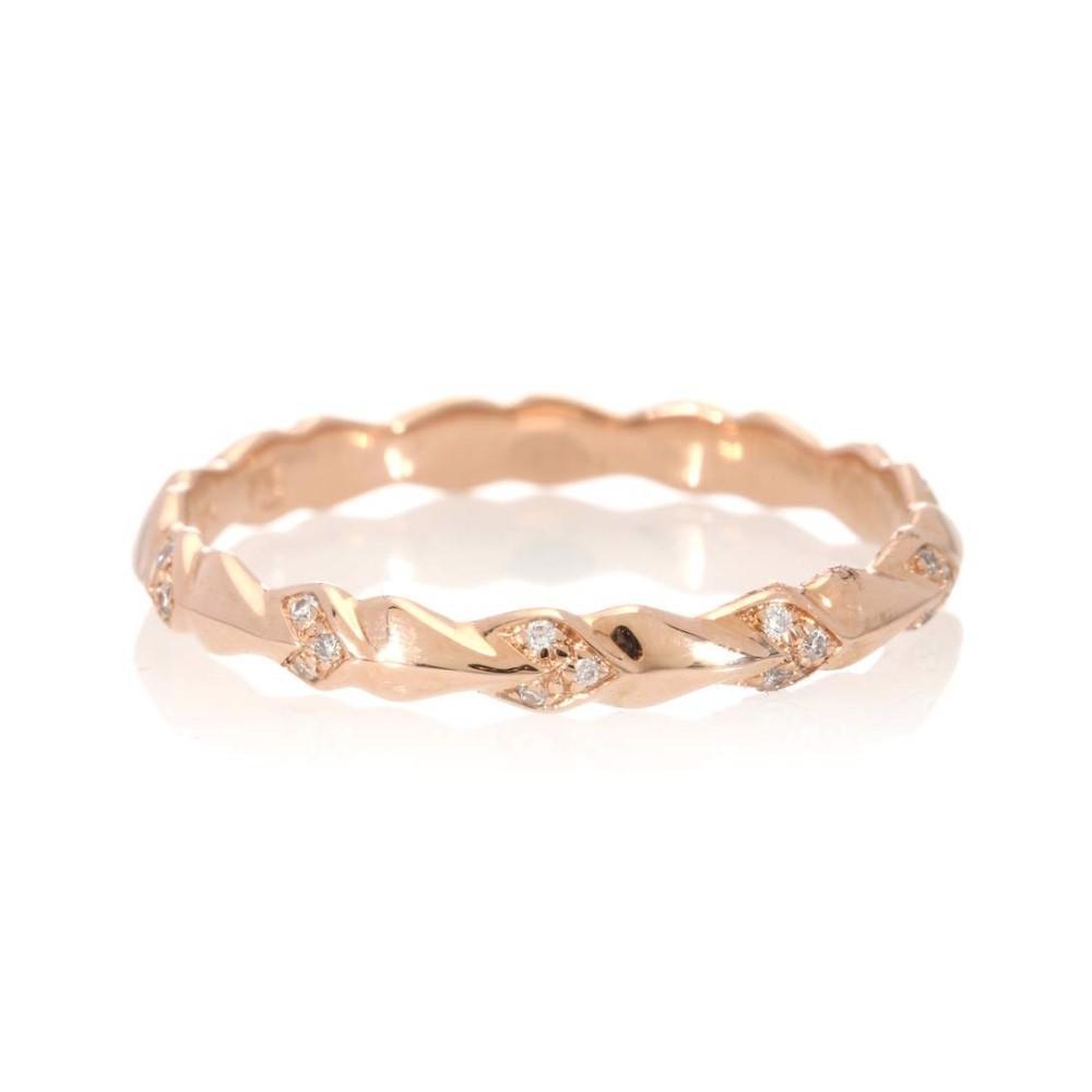 アンナシェフィールド レディース ring】 ジュエリー・アクセサリー diamonds 指輪 Sheaves・リング【Tiny Sheaves 14kt rose gold and diamonds ring】, HIC:ed80433c --- whoisrobertjohns.com
