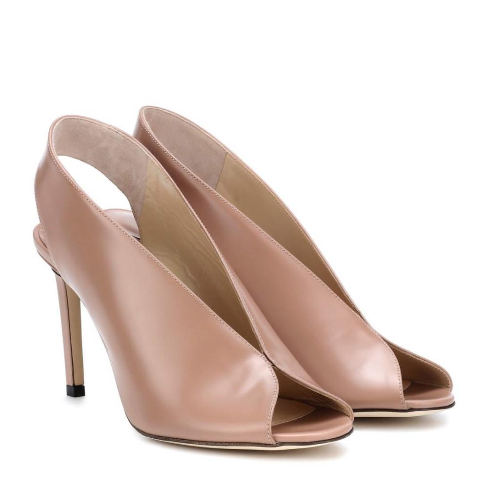 ジミー チュウ レディース シューズ・靴 サンダル・ミュール【Shar 85 leather sandals】Ballet Pink