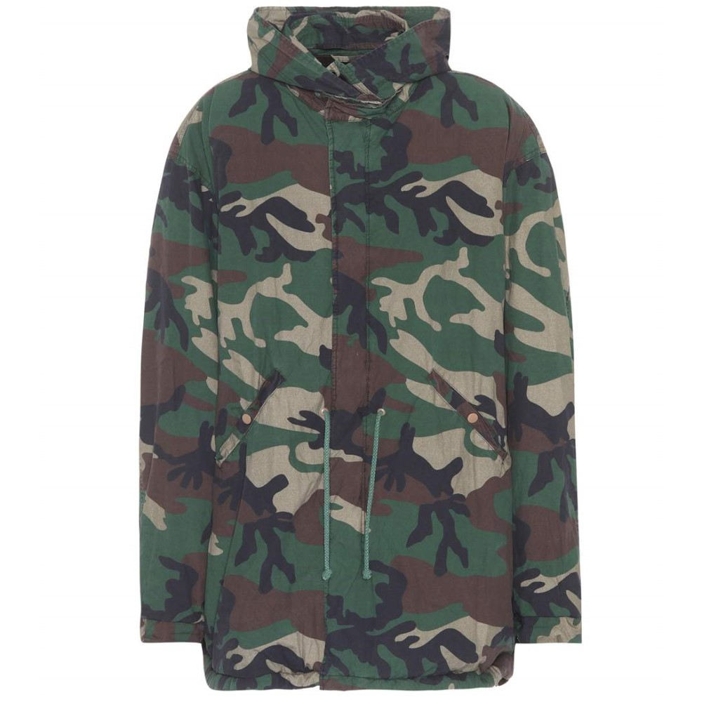 アディダス イージー レディース アウター コート【Camouflage coat (SEASON 5)】Camouflage