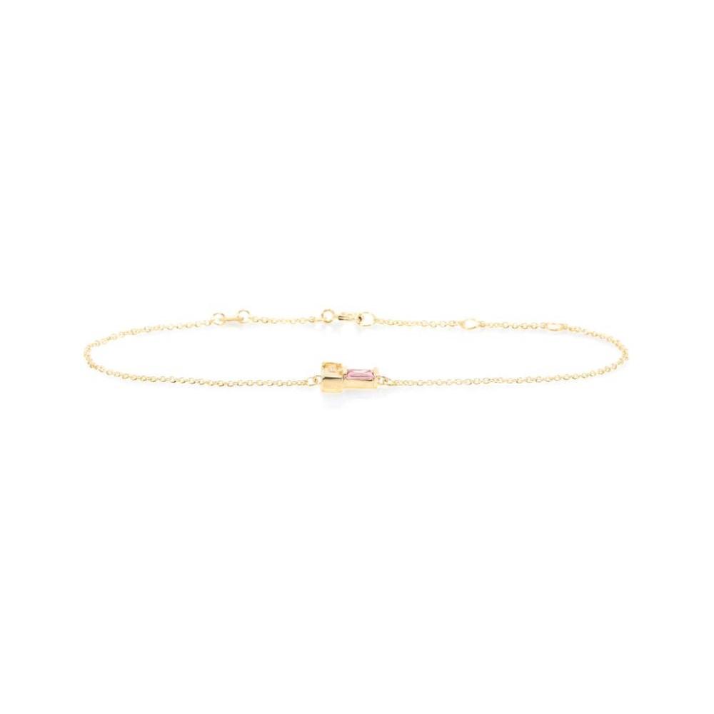 アリータ レディース ジュエリー・アクセサリー ブレスレット【9kt gold bracelet with citrine and tourmaline】