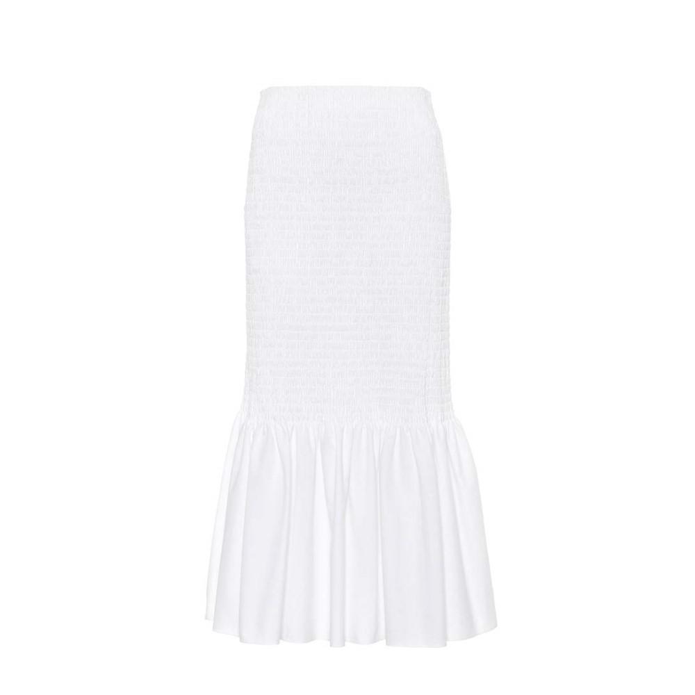 カルバンクライン レディース スカート ひざ丈スカート【Cotton skirt】