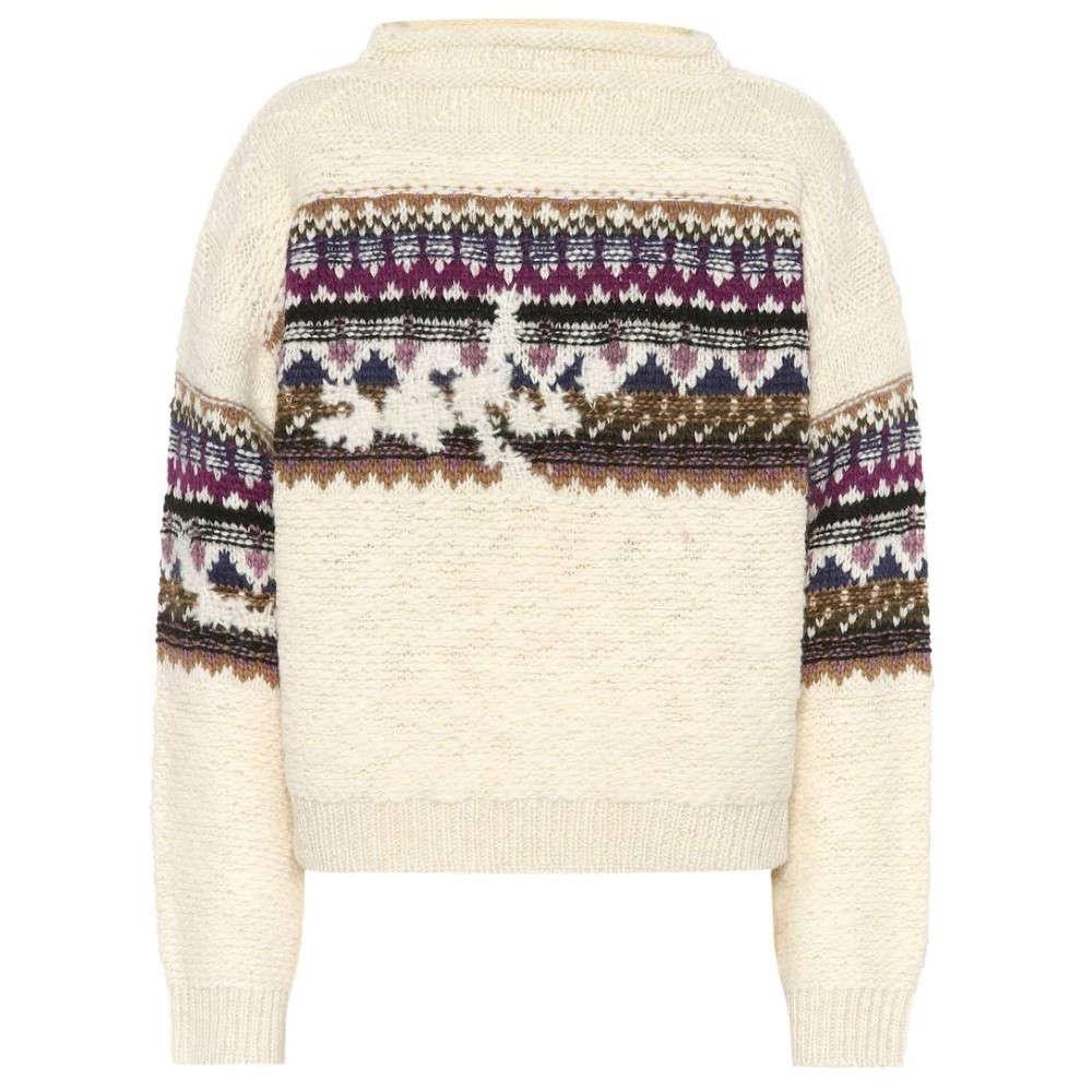 イザベル マラン レディース トップス ニット・セーター【Elsey wool-blend sweater】Purple