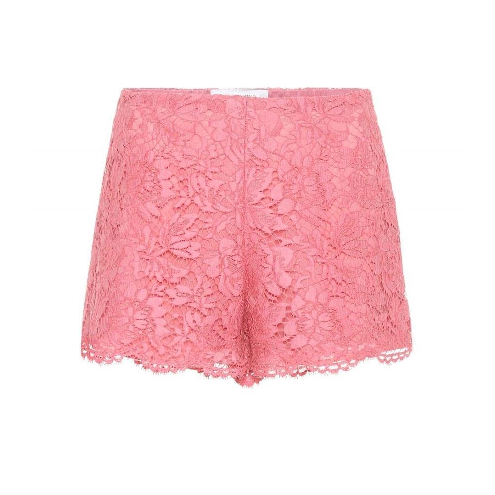 ヴァレンティノ レディース ボトムス・パンツ ショートパンツ【Lace shorts】Candy