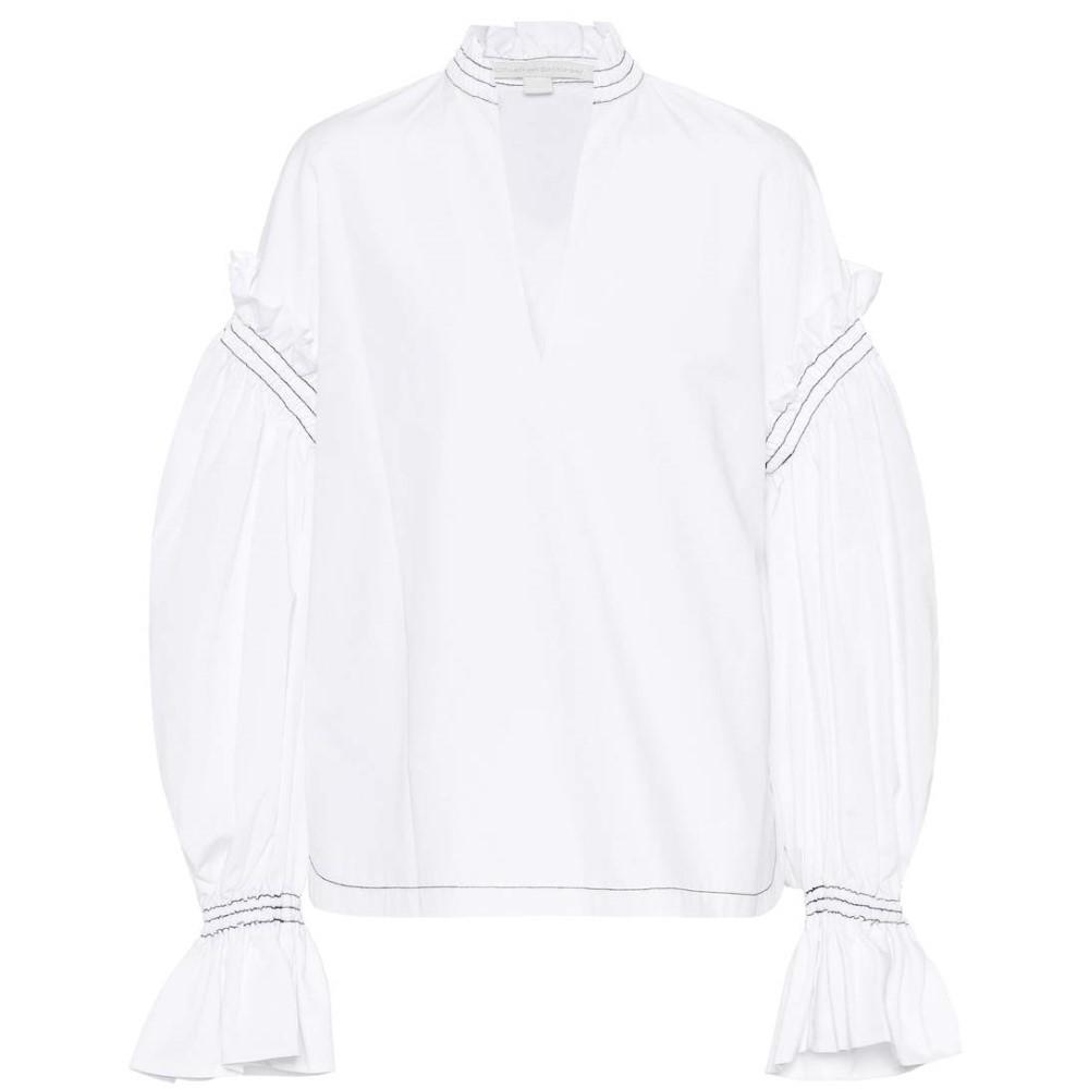 ジョナサン シンカイ レディース トップス ブラウス・シャツ【Cotton shirt】Ivory