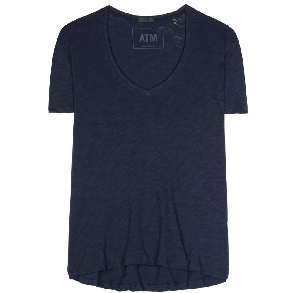 6beb90f169cb アンソニー トーマス メリロー レディース トップス Tシャツ【Cotton jersey T-shirt】midnight