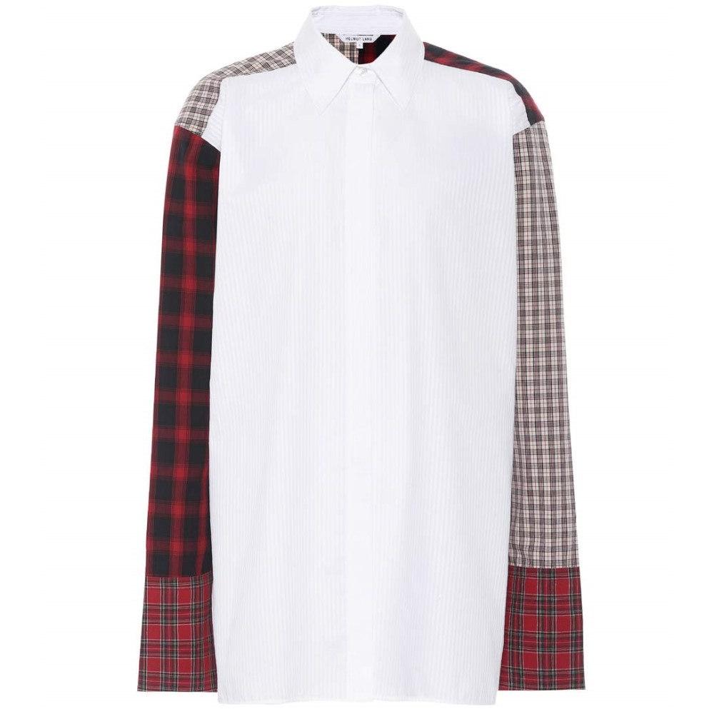 ヘルムート ラング レディース トップス ブラウス・シャツ【Cotton button-down shirt】Optic White