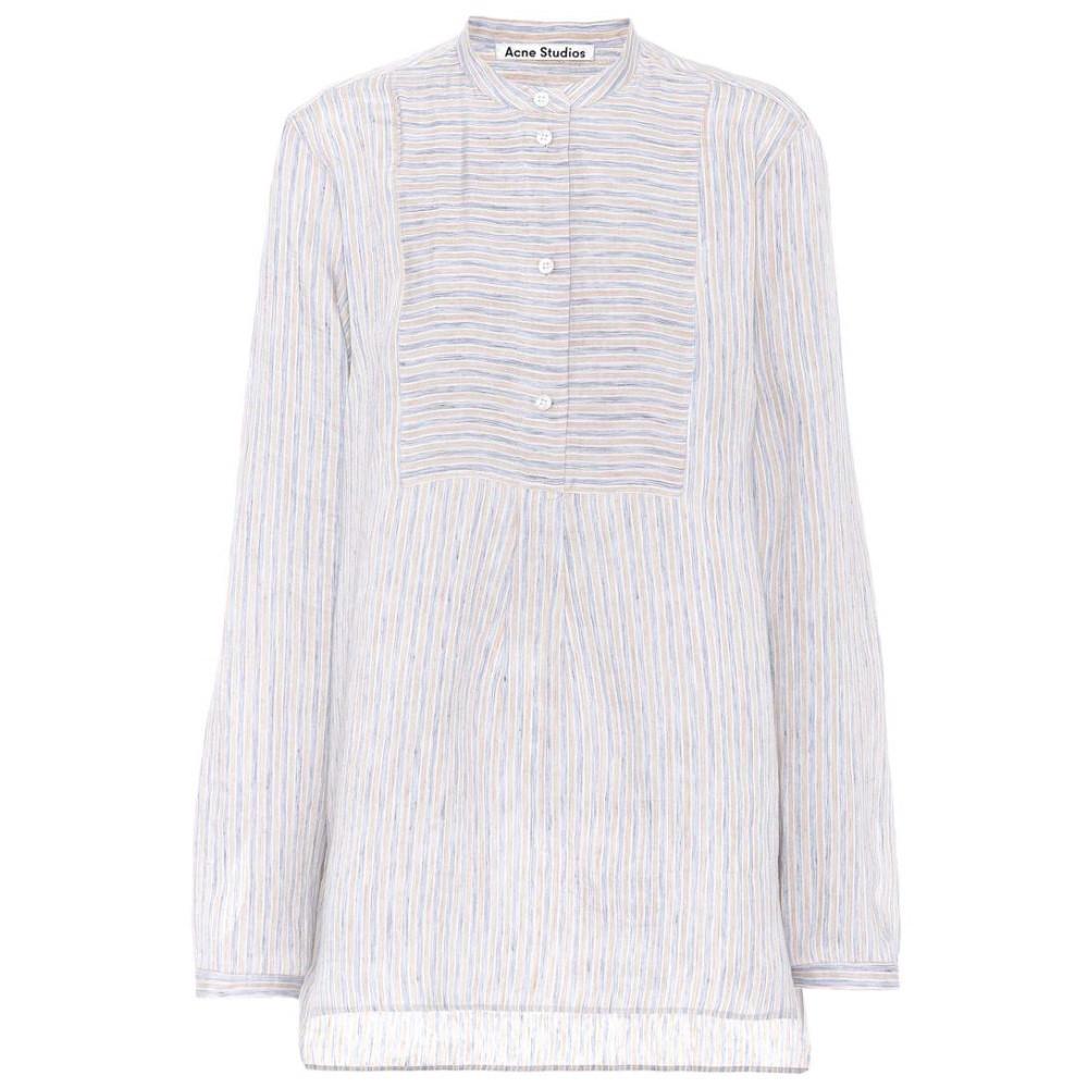アクネ ストゥディオズ レディース トップス ブラウス・シャツ【Lysanne Sketch linen-blend shirt】