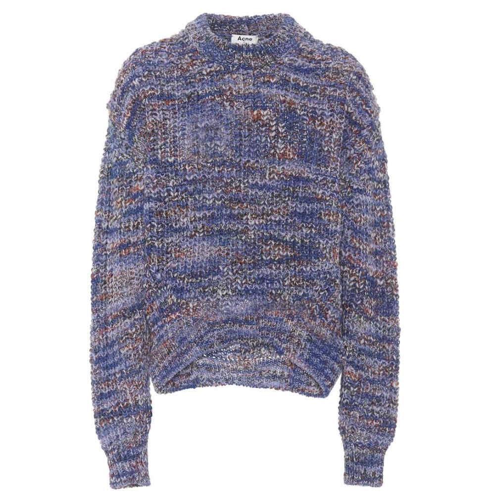 アクネ ストゥディオズ レディース トップス ニット・セーター【Zora melange sweater】Blue Mix