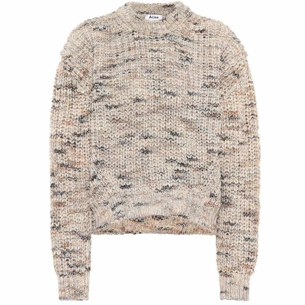アクネ ストゥディオズ レディース トップス ニット・セーター【Zora wool-blend sweater】Beige Mix