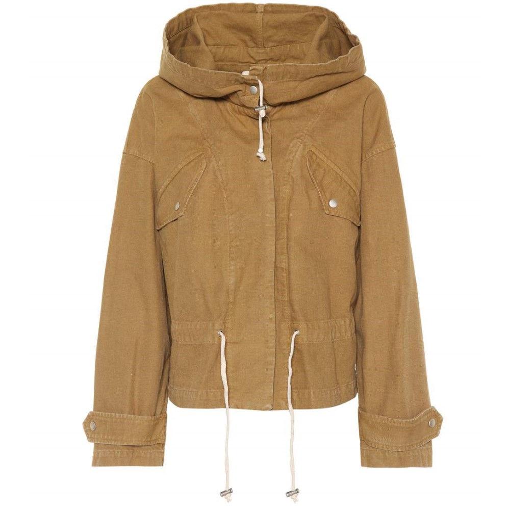 イザベル マラン レディース アウター ジャケット【Lagilly cotton jacket】Ochre