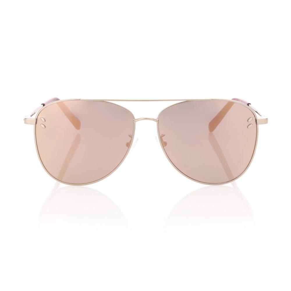 ステラ マッカートニー レディース メガネ・サングラス【Aviator sunglasses】