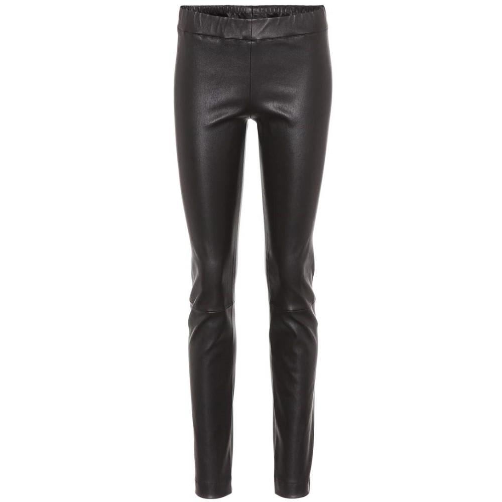 ザ ロウ レディース インナー・下着 スパッツ・レギンス【Moto leather leggings】Black
