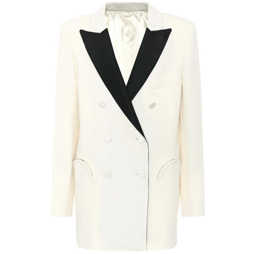 ブレイズ ミラノ レディース アウター スーツ・ジャケット【Everyday wool crepe blazer】Ivory
