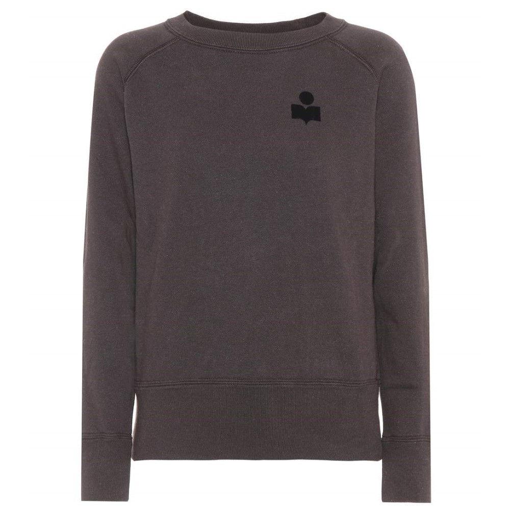 イザベル マラン レディース トップス ニット・セーター【Makati cotton-blend sweater】Faded Black