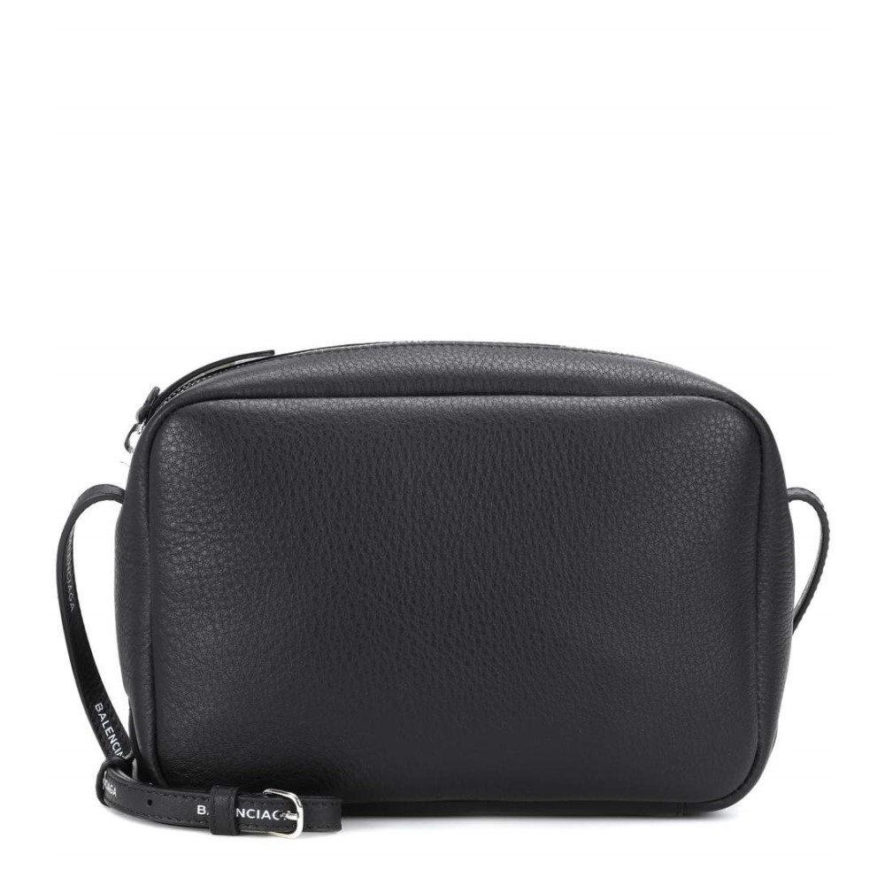 バレンシアガ レディース バッグ ショルダーバッグ【Everyday leather crossbody bag】Noir