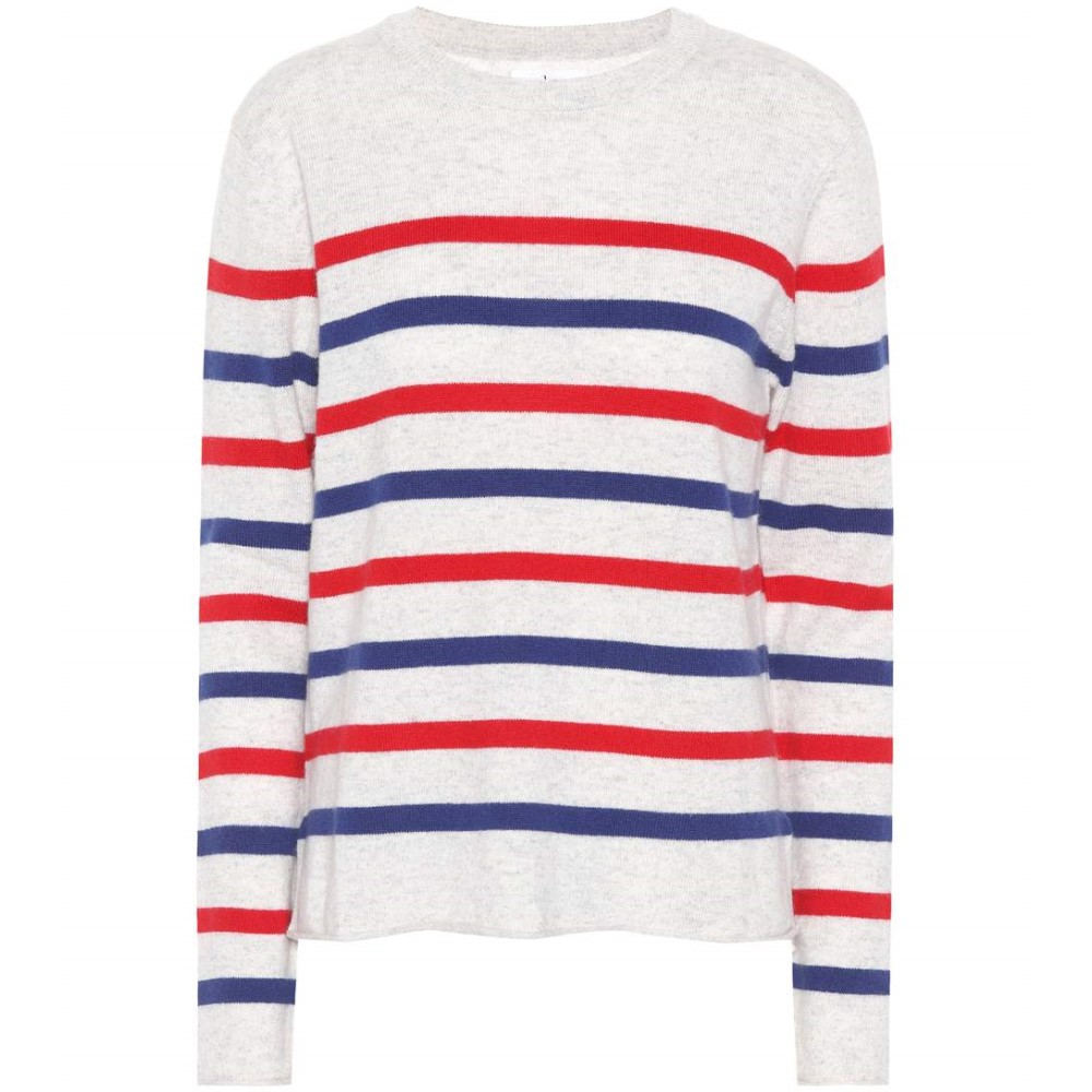 ベルベット グラハム&スペンサー レディース トップス ニット・セーター【Jorgie striped cashmere sweater】