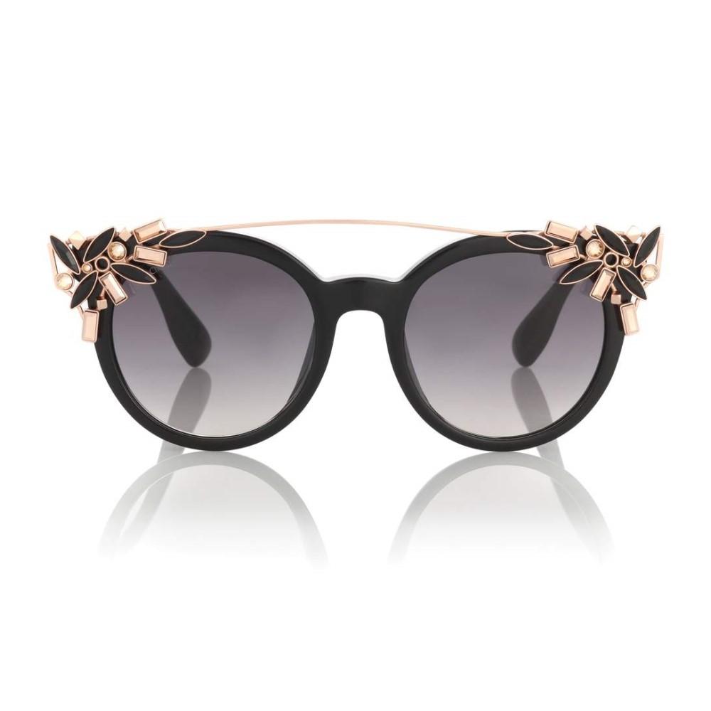 ジミー チュウ レディース メガネ・サングラス【Vivy crystal-embellished sunglasses】