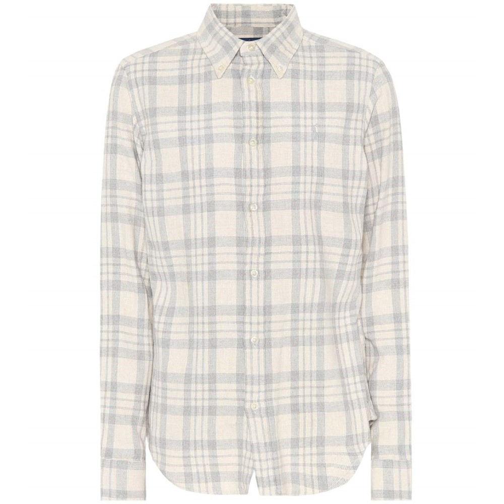 ラルフ ローレン レディース トップス ブラウス・シャツ【Plaid cotton shirt】Grey