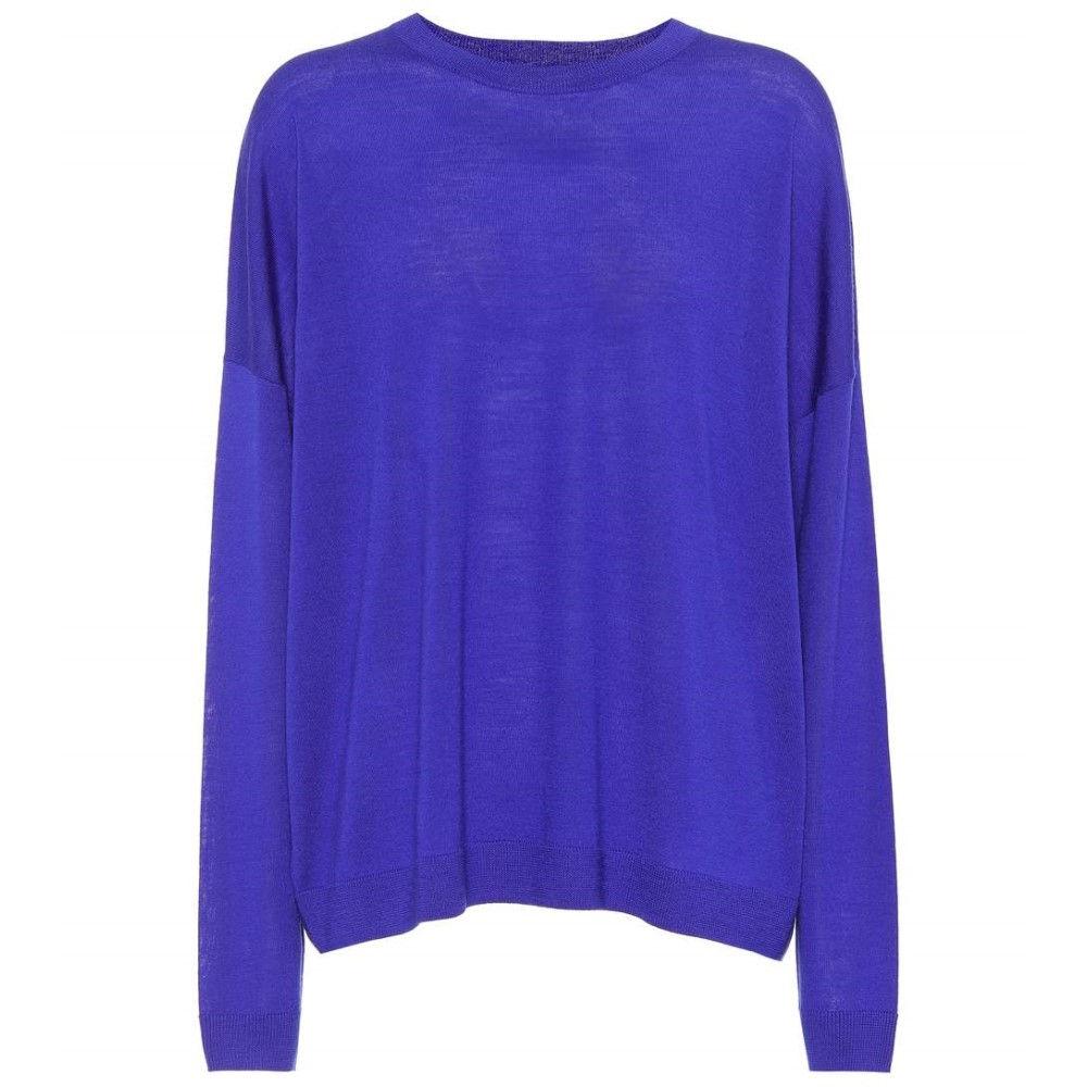 アクネ ストゥディオズ レディース トップス ニット・セーター【Karel Merino sweater】Bright Blue