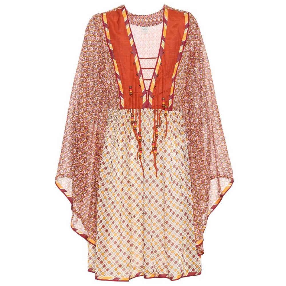 タリサ レディース 水着・ビーチウェア ビーチウェア【Printed dress】Orange