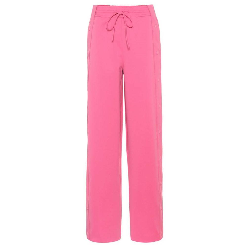 ヴァレンティノ レディース ボトムス・パンツ スウェット・ジャージ【Wide-leg trackpants】Shadow Pink
