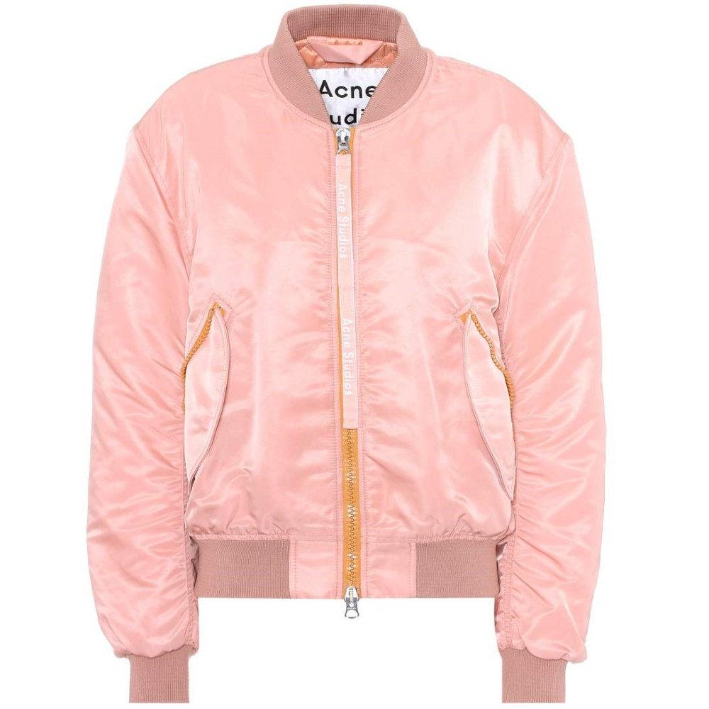 アクネ ストゥディオズ レディース アウター ブルゾン【Clea bomber jacket】Pale Pink
