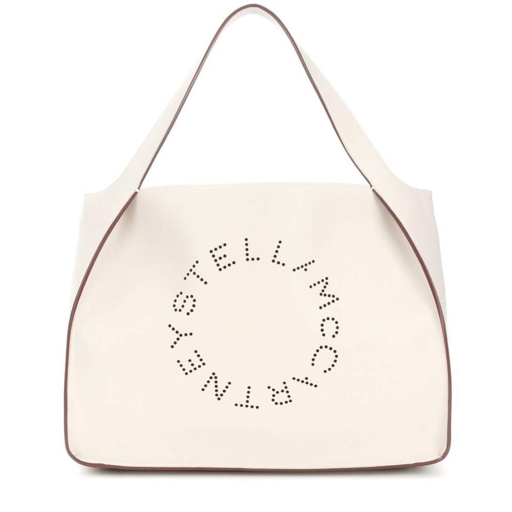 ステラ マッカートニー レディース バッグ トートバッグ【Stella Logo faux leather tote】Pure White