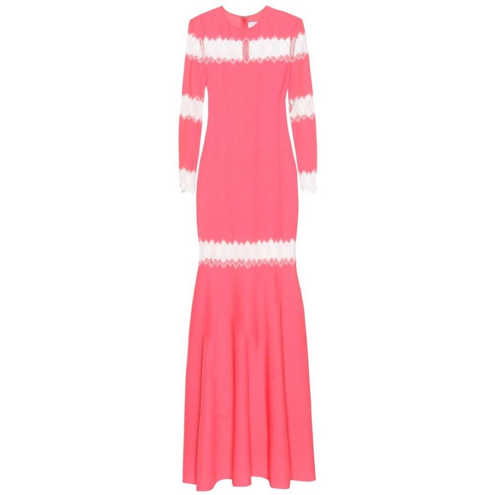 フーシャン ツァン レディース ワンピース・ドレス ワンピース【Long-sleeved dress】Bubblegum / White