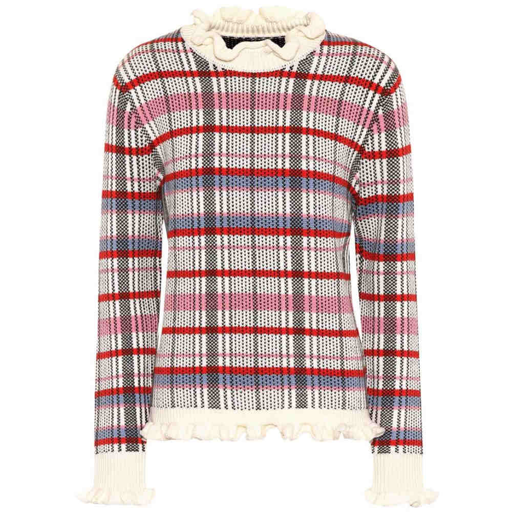 シュリンプス レディース トップス ニット・セーター【Brennan wool sweater】Mixed Check