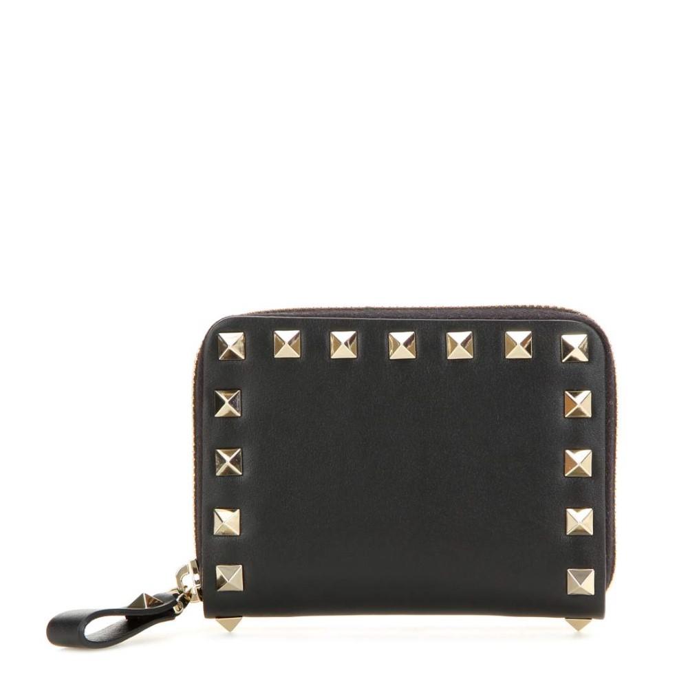 ヴァレンティノ レディース 財布【Valentino Garavani Rockstud leather coin purse】