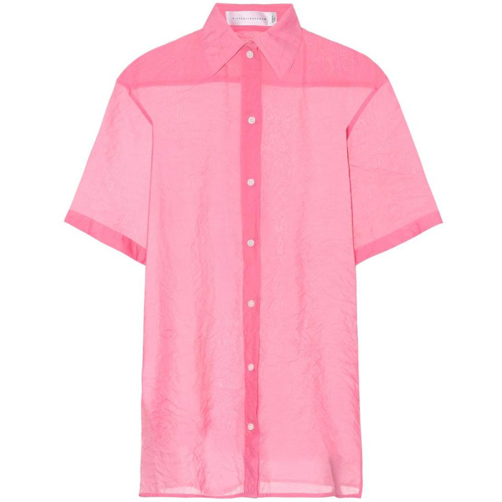 ヴィクトリア ベッカム レディース トップス ブラウス・シャツ【Oversized shirt】Pink