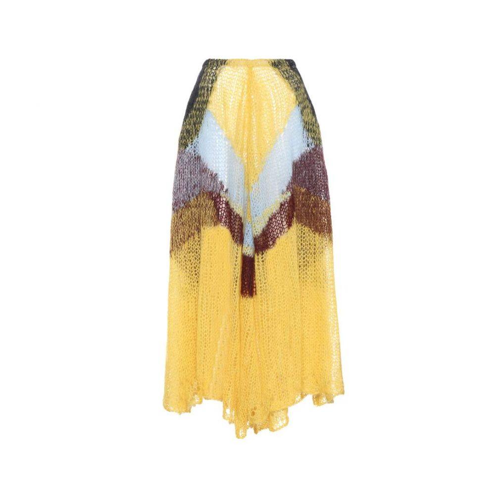 ジル サンダー レディース スカート【Mohair-blend skirt】Open Miscellaneous