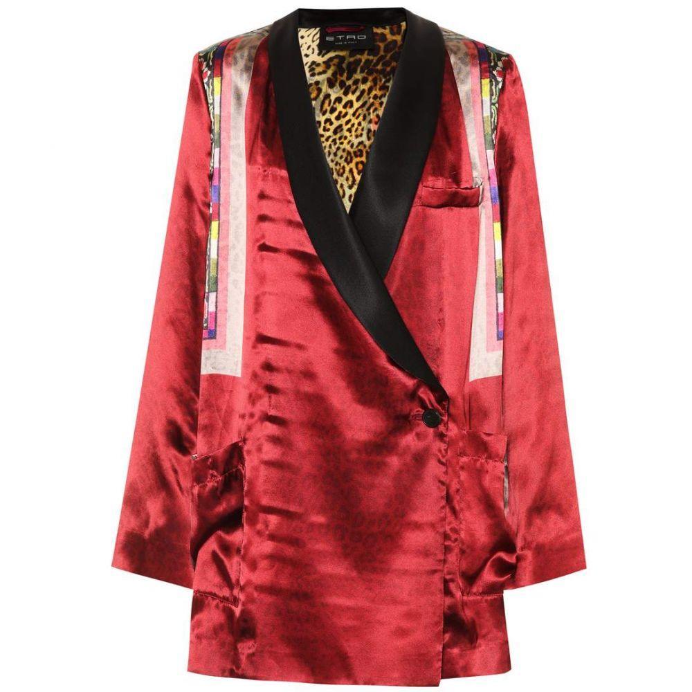エトロ レディース アウター ジャケット【Printed satin jacket】Multicolor
