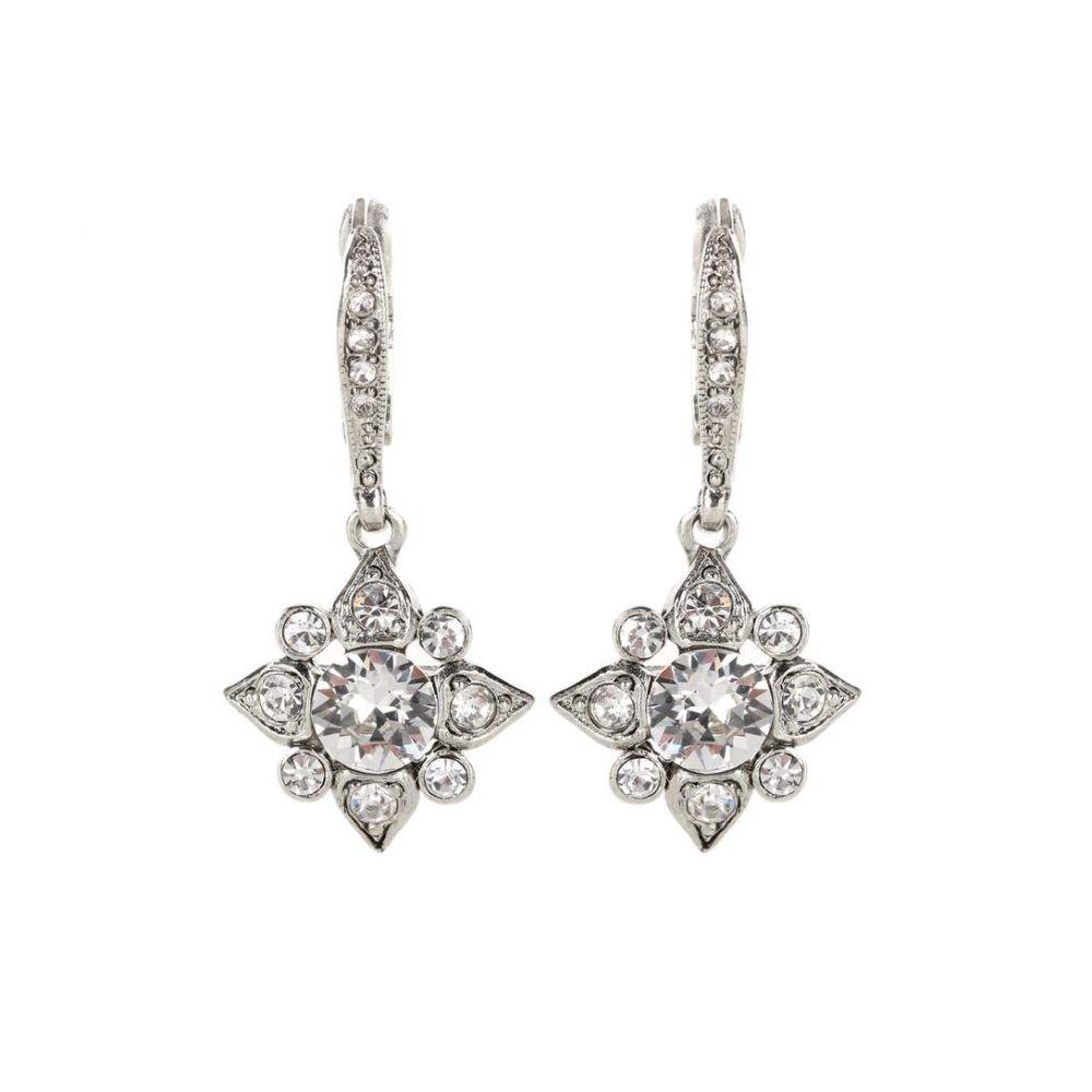 オスカー デ ラ レンタ レディース ジュエリー・アクセサリー イヤリング・ピアス【Swarovski crystal-embellished earrings】
