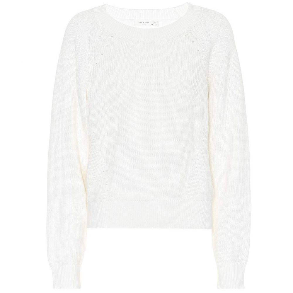 ラグ&ボーン レディース トップス ニット・セーター【Cotton sweater】White