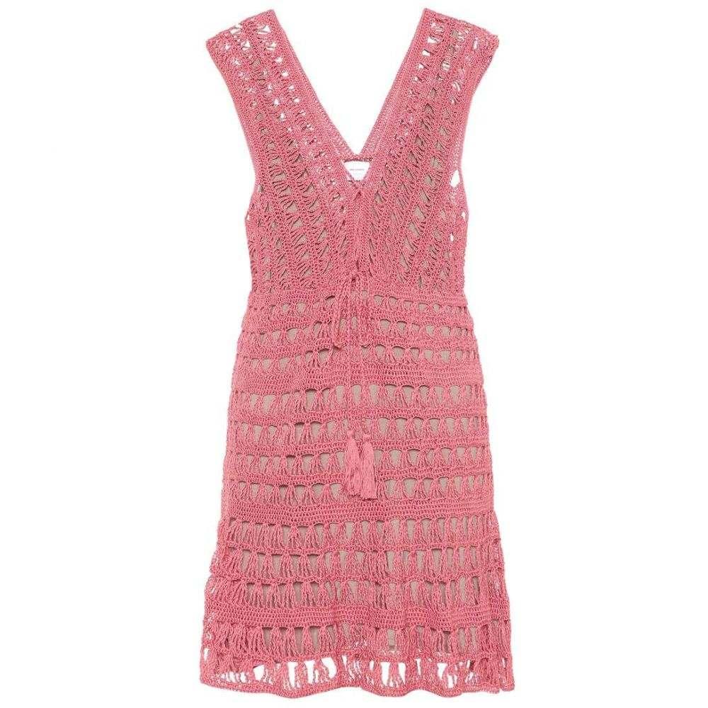 アンナ コスツローバ レディース ワンピース・ドレス ワンピース【Jennifer cotton crochet dress】Pink