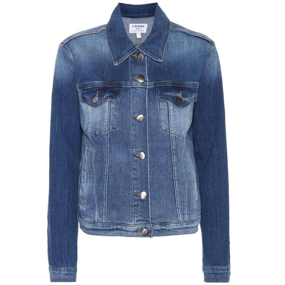 フレーム レディース アウター ジャケット【Le Vintage denim jacket】Waltham Way