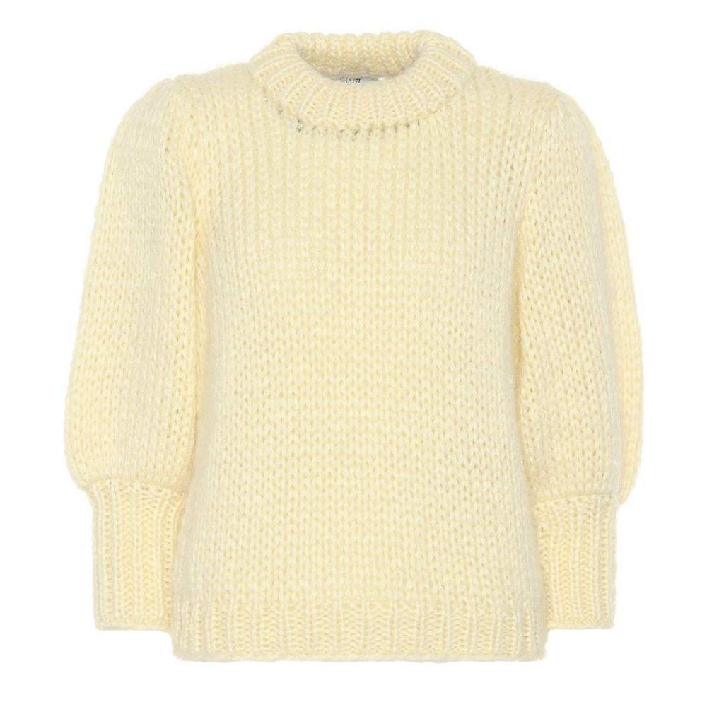 ガニー レディース トップス ニット・セーター【The Julliard mohair-blend sweater】Anise Flower