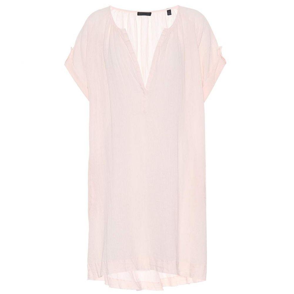 アンソニー トーマス メリロー レディース ワンピース・ドレス ワンピース【Cotton dress】Petal Pink