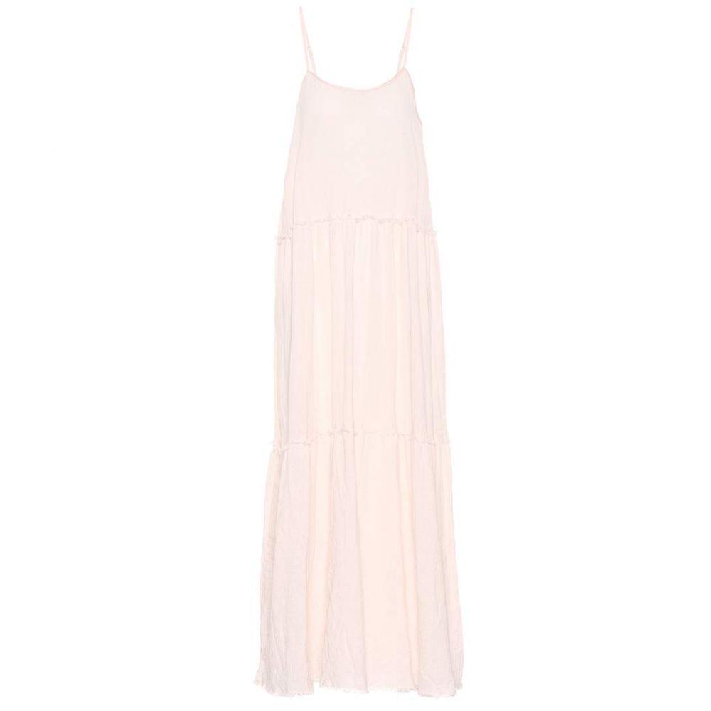 アンソニー トーマス メリロー レディース ワンピース・ドレス ワンピース【Cotton maxi dress】Petal Pink