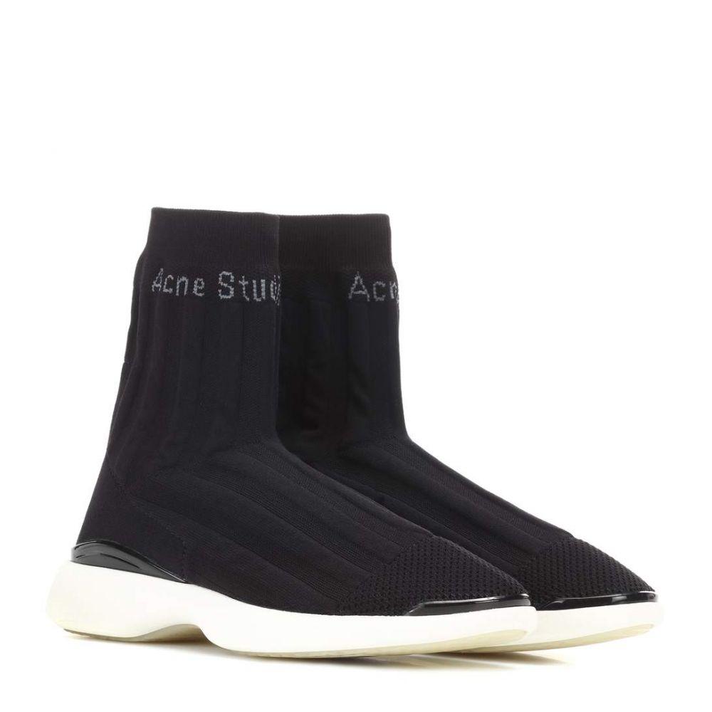 アクネ ストゥディオズ レディース シューズ・靴 スニーカー【Batilda stretch mesh sneakers】Black/White